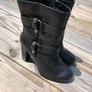 Harley-Davidson Shoes - Harley Davidson 8.5 Marissa Platform Boots Black